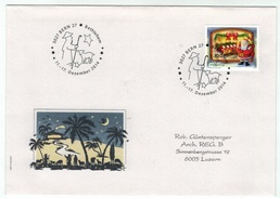 Suisse /Schweiz/Svizzera/Switzerland // Marcophilie  // Lettre Bethlehem 11 Au 17.12.2014 - Marcophilie