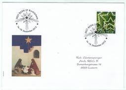 Suisse /Schweiz/Svizzera/Switzerland // Marcophilie  // Lettre Bethlehem 14 Au 19.12.2012 - Marcophilie