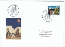 Suisse /Schweiz/Svizzera/Switzerland // Marcophilie  // Lettre Bethlehem 12 Au 16.12.2011 - Marcophilie
