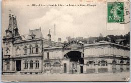 78 MEULAN - L'hotel De Ville, La Poste Et La Caisse D'épargne. - Meulan