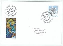 Suisse /Schweiz/Svizzera/Switzerland // Marcophilie  // Lettre Bethlehem 13 Au 17.12.2011 - Marcophilie