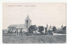 Woluwe ST. Lambert: L' Eglise Et La Château. - St-Lambrechts-Woluwe - Woluwe-St-Lambert