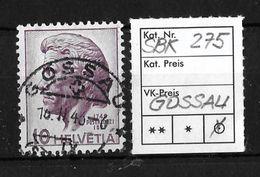 1946  200.GEBURTSTAG HEINRICH PESTALOZZI → SBK-275, Vollstempel ►GOSSAU◄ - Suisse