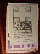 15105) TESSERA AZIONE CATTOLICA DONNE 1947 - Partiti Politici & Elezioni