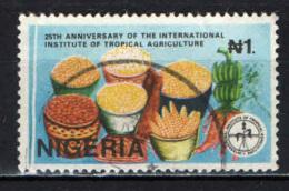 NIGERIA - 1992 - ISTITUTO INTERNAZIONALE DI STUDIO DELL'AGRICOLTURA TROPICALE - 25° ANNIVERSARIO - USATI - Nigeria (1961-...)