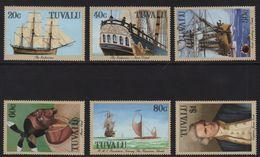 Tuvalu - N°488 à 493 - Voyages Du Capitaine Cook - Cote 8.50€ - Tuvalu