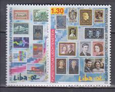 LIECHTENSTEIN           2002          N .   1240 / 1241        COTE   5 . 00  Euros - Liechtenstein