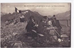 Haute-Savoie - Chamonix - Au Sommet Du Brévent - La Table D'orientation - Chamonix-Mont-Blanc