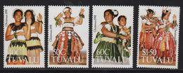 Tuvalu - N°575 à 578 - Noel - Cote 10€ - Tuvalu