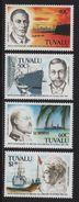 Tuvalu - N°583 à 586 - Souverains Britnniques - Cote 12€ - Tuvalu