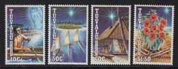 Tuvalu - N°617 à 620 - Noel - Cote 6€ - Tuvalu