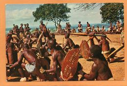 Mozambique 1965 Postcard Mailed 7 Stamps - Mozambique