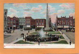 Asheville NC 1909 Postcard - Asheville