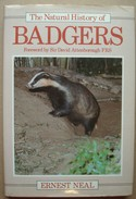 The Natural History Of Badgers. - Ernest NEAL. - Livres, BD, Revues