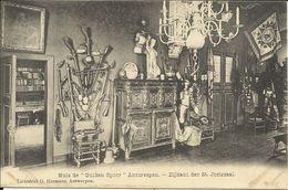 """Huis """" De Gulde Spoor """" Antwerpen , Zijkant Der St. Joriszaal - Antwerpen"""