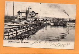 Christiania Yachtklubhuset Norway 1910 Postcard - Norway