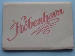 Carnet KOBENHAVN ( Kopenhagen ) Described On The Backside ( Carnet With 10 Colored Cards ) Written In 1947 ! - Danemark