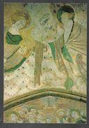 Cpm 5612573 Kernascleden Fresque Du XVe Anges Musiciens - Altri Comuni