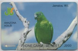JAMAICA - AMAZONA AGILIS - PARROT - 5JAMG - Jamaica