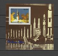 Paraguay 1988 Space, Wernher Von Braun S/s MNH - Space