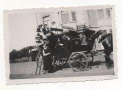 37187    -  Brasschaet  Le  Mailcoach  -   Militaria  -   Photo  9  X  6  -  2  Scans - Brasschaat