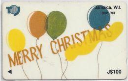 JAMAICA - MERRY CHRISTMAS '93 - 16JAMC - Jamaica