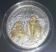 RWANDA 2008 93,3GR 1000 Francs GORILLA Gold+Silver 3 Oz + 4 Diamonds Coa - Rwanda