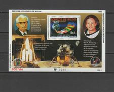 Bolivia 1993 Space Apollo S/s MNH - Space