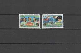 Aitutaki 1994 Space Apollo Set Of 2 MNH - Space