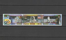 Niue 1994 Space Apollo Set Of 3 MNH - Space