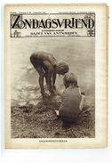 Zondagsvriend 5e Jaargang Nr 36  September 1934   Tussen Oostende En Knokke,  Toledo , Foto Promenade Des Artistes Spa - Magazines & Newspapers