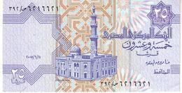 Egypt P.57 25 Piastres 2007   Unc - Egipto