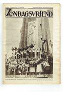 Zondagsvriend 5e Jaargang Nr 34  Oogst 1934 IJzerbedevaart,  Dubbele Pagina Lummen - Magazines & Newspapers