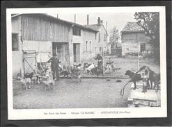 """AUCAMVILLE - Refuge """"Le MARIEL"""" - 15x10,5cm - 2 Scans. - Non Classés"""