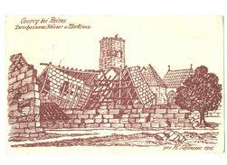 51-1454 COURCY Dessin - Autres Communes