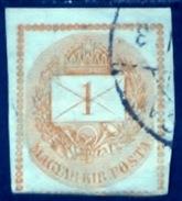 Hongarije 1874, Magyar, Hungary, Hongrie, Ungarn, YT 3 - Gebruikt