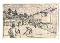 51-1462 MORONVILLERS Dessin - France