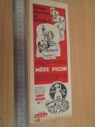Page De Revue Des Années 60/70 : PUBLICITE FROMAGE MERE PICON DECOUPIS EMPIRE Format : 1/2 Page A4 - Autres
