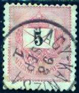 Hongarije 1888, Magyar, Hungary, Hongrie, Ungarn, 5 Kr. SG 42, YT 26a - Hongarije