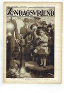 Zondagsvriend 5e Jaargang Nr 41  Oktober 1934, Belgisch Schoolschip Mercator,  Foto's Ruysselede, - Magazines & Newspapers