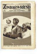 Zondagsvriend 5e Jaargang Nr 24  Juni 1934 Koningin Astrid, Hoekje Oostvlaanderen, Uyterbergen Ea - Tijdschriften