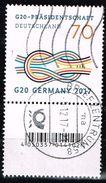 Bund 2017, Michel# 3291 R O Mit Rollennummer 28 Mit EAN-Code - Used Stamps