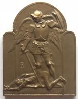 Médaille. Ville De Bruxelles. Le Centre Public D'Aide Sociale De Bruxelles. Reconnaissance 1953-1985 - Professionals / Firms