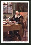 CPA Philosoph Jan Amos Komensky (1592-1670) Am Schreibtisch - Autres Célébrités