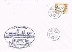 26799. Carta BREMEN (Alemania Federal) 1982. Barco, Ship, FK- Schnellboot, SS71 Gepard - [7] República Federal