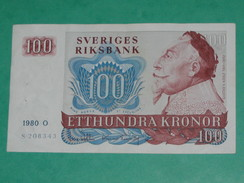 100 Etthundra Kronor 1965-1985 - Suède - Sveriges Riksbank   ****EN ACHAT IMMEDIAT **** - Suède