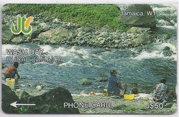 JAMAICA - WASH DAY - 8JAMC - Jamaica