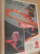 Page De Revue Des Années 60/70 : CIRCUIT AUTOMOBILE HOT WHEELS MATTEL Format Page A4 - Circuits Automobiles