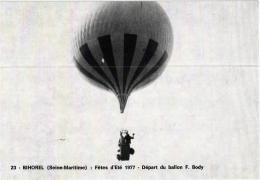BIHOREL FETES D'ETE 77: BALLON F.BODY L'ENVOL (TIRAGE 1000EX )REF 54719 - Flugwesen