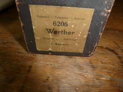 Rouleau Ancien Perforé Pour Piano Mécanique 6206 Werther (Potpourri- Selection) Par J. Massenet - Objets Dérivés